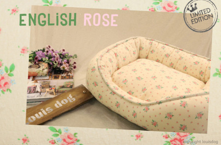 Louisdog English Rose Bed