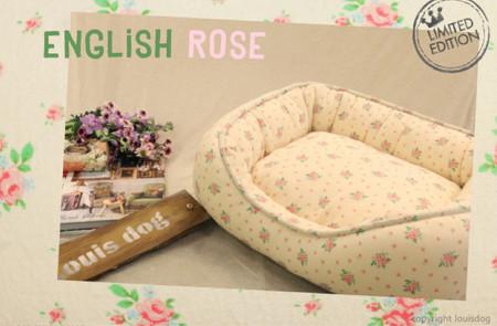Louisdog English Rose Bed