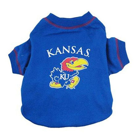 Kansas Jayhawks Dog T-Shirt