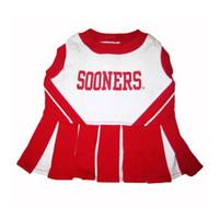 Oklahoma Sooners Cheerleader Dog Dress