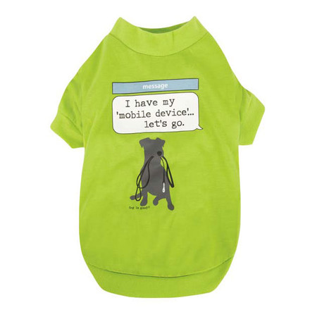 Dog Is Good Mobile Device Tee