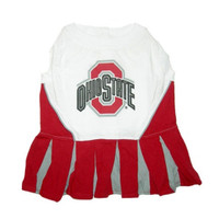 Ohio State Buckeyes Cheerleader Dog Dress