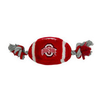 Ohio State Buckeyes Football Dog Toy