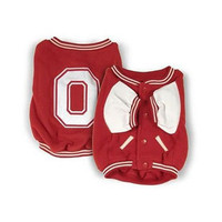 Ohio State Buckeyes Dog Jacket