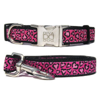 Cheetah Collar & Leash