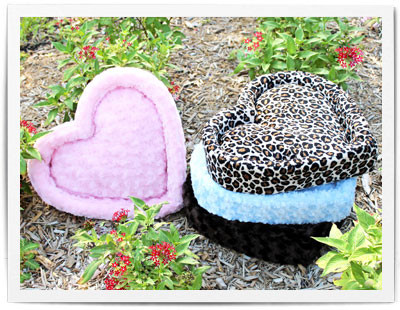 Heart Pet Bed