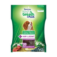 Tropiclean Fresh Breath Dental Chews - Hip & Joint Small
