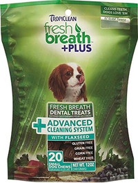 Tropiclean Fresh Breath Dental Chews - Digestive Support Small