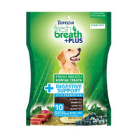 Tropiclean Fresh Breath Dental Chews - Digestive Support Regular