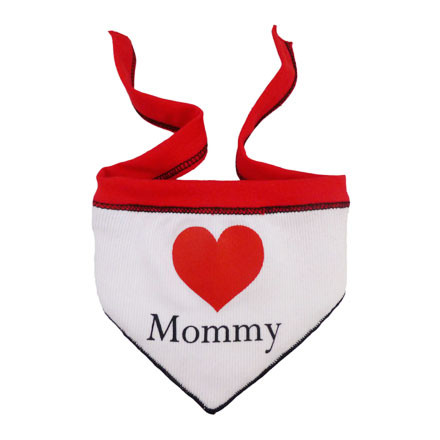 Heart Mommy Scarf