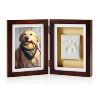 Pawprints Espresso Desktop Frame