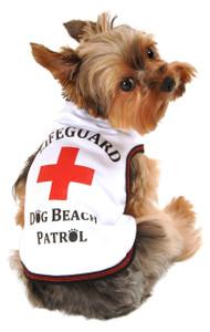 Lifeguard Dog Beach Patrol Tank