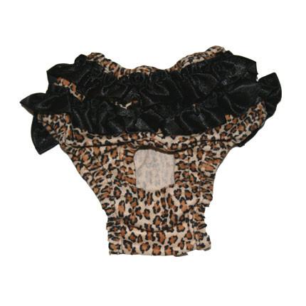 Brown Panther Sanitary Pants
