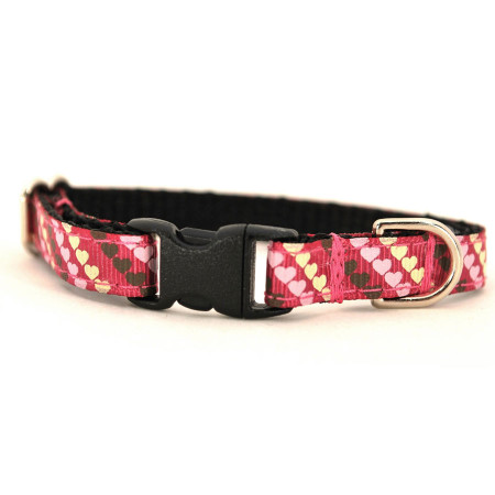 Be Mine Petite Dog Collar & Lead