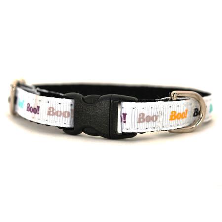 Boo! Petite Dog Collar & Lead