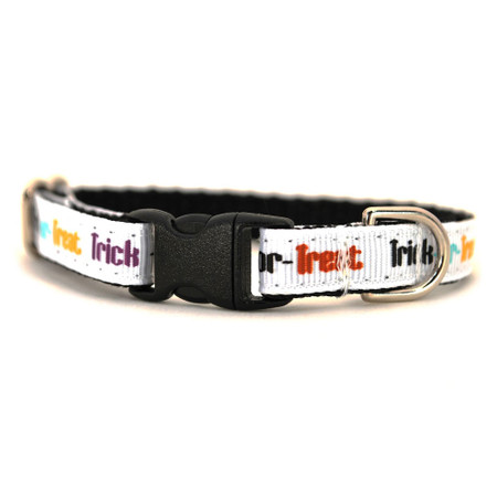 Trick or Treat Petite Dog Collar