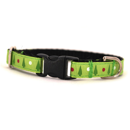 Trees Petite Dog Collar & Lead