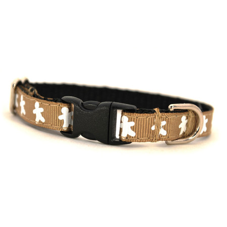 Gingerman Petite Dog Collar & Lead