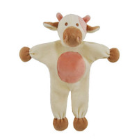Stuffless Milly Cow Organic Dog Toy