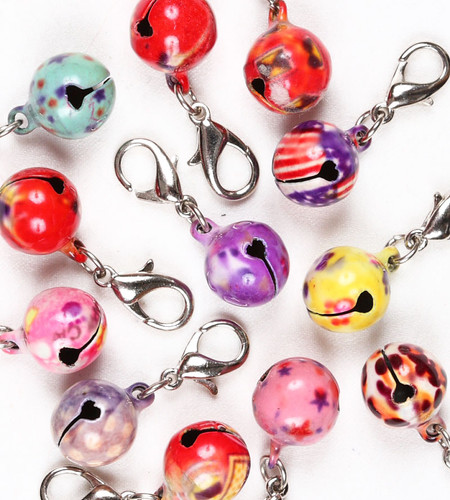 Susan Lanci Cloisenne Collar Bells
