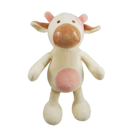 Large Millie Cow Organic Dog Toy
