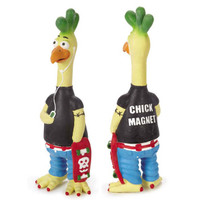 Cluckster Rubber Chicken Toy