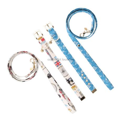 Louisdog Liberty Collar & Lead Set