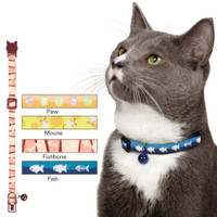 Mousin Around Cat Collar