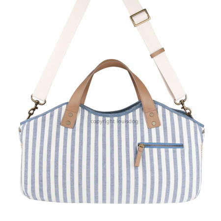 Louisdog Denim Tote Bag Pet Carrier