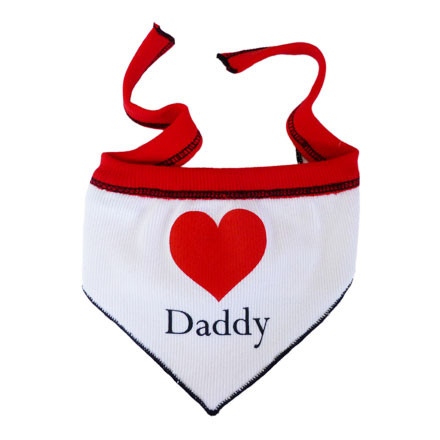 Heart Dad Scarf