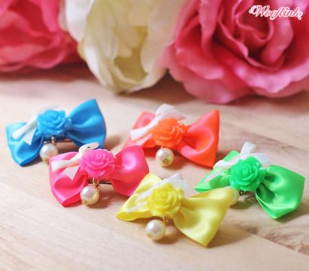 Wooflink Rose Bows