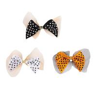 Halloween Polka Dot Bows
