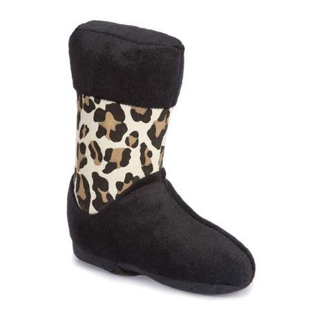 M. Isaac Mizrahi Luxe Leopard Boot Toy