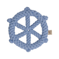 Nautical Wheel Rope Dog Toy
