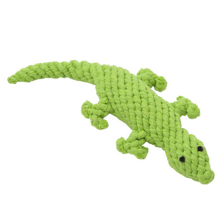 Lenny the Lizard Rope Dog Toy