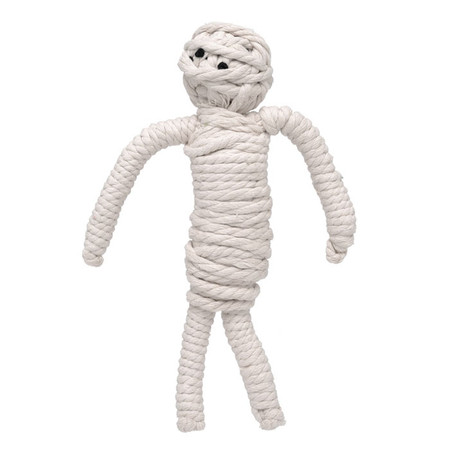 Mumford the Mummy Rope Dog Toy