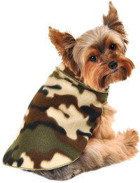 Camo Fleece Pullover