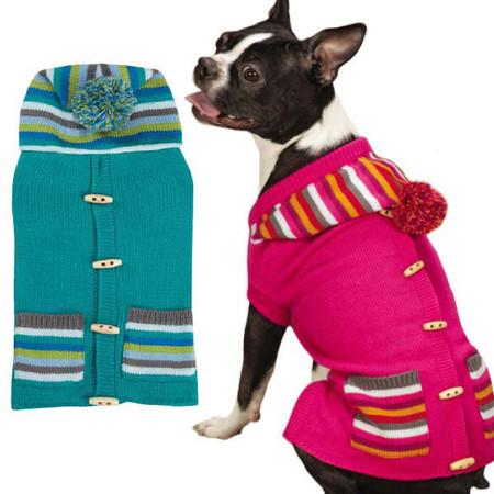 Bright Stripe Sweater Vest