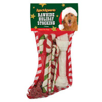 Rawhide Holiday Stocking
