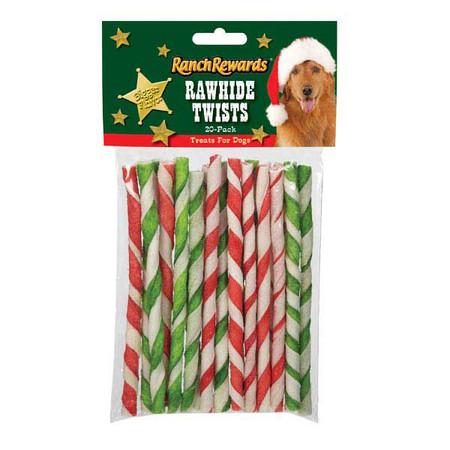 Holiday Rawhide Twists