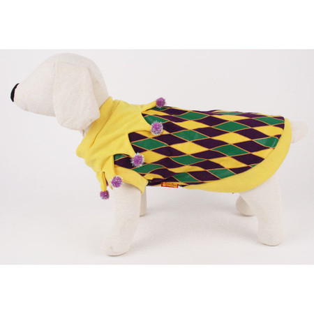 Mardi Gras T-Shirt Dog Costume