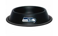 Seattle Seahawks Stainless Steel Dog Bowl