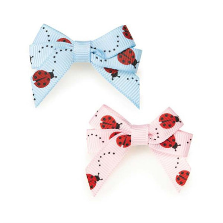 Lady Bug Dog Barettes
