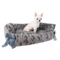 Louisdog Camo Boom Dog Bed
