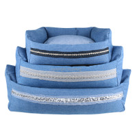 Louisdog Bleu Boom Dog Bed