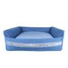 Louisdog Bleu Boom Dog Bed