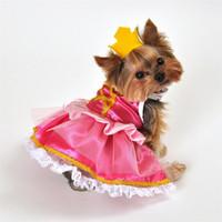 Pink Princess Dog Costume