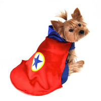 Red Superhero Dog Costume