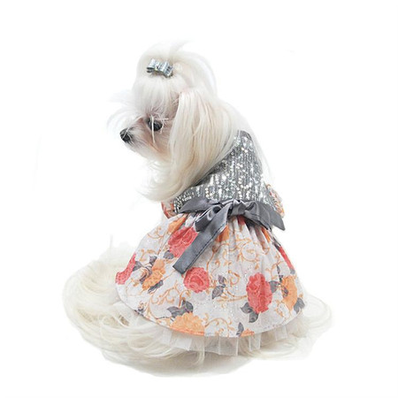 Oscar Newman Ready to Sparkle Pet Dress