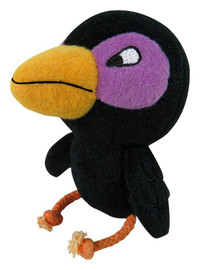 Black Raven Dog Toy
